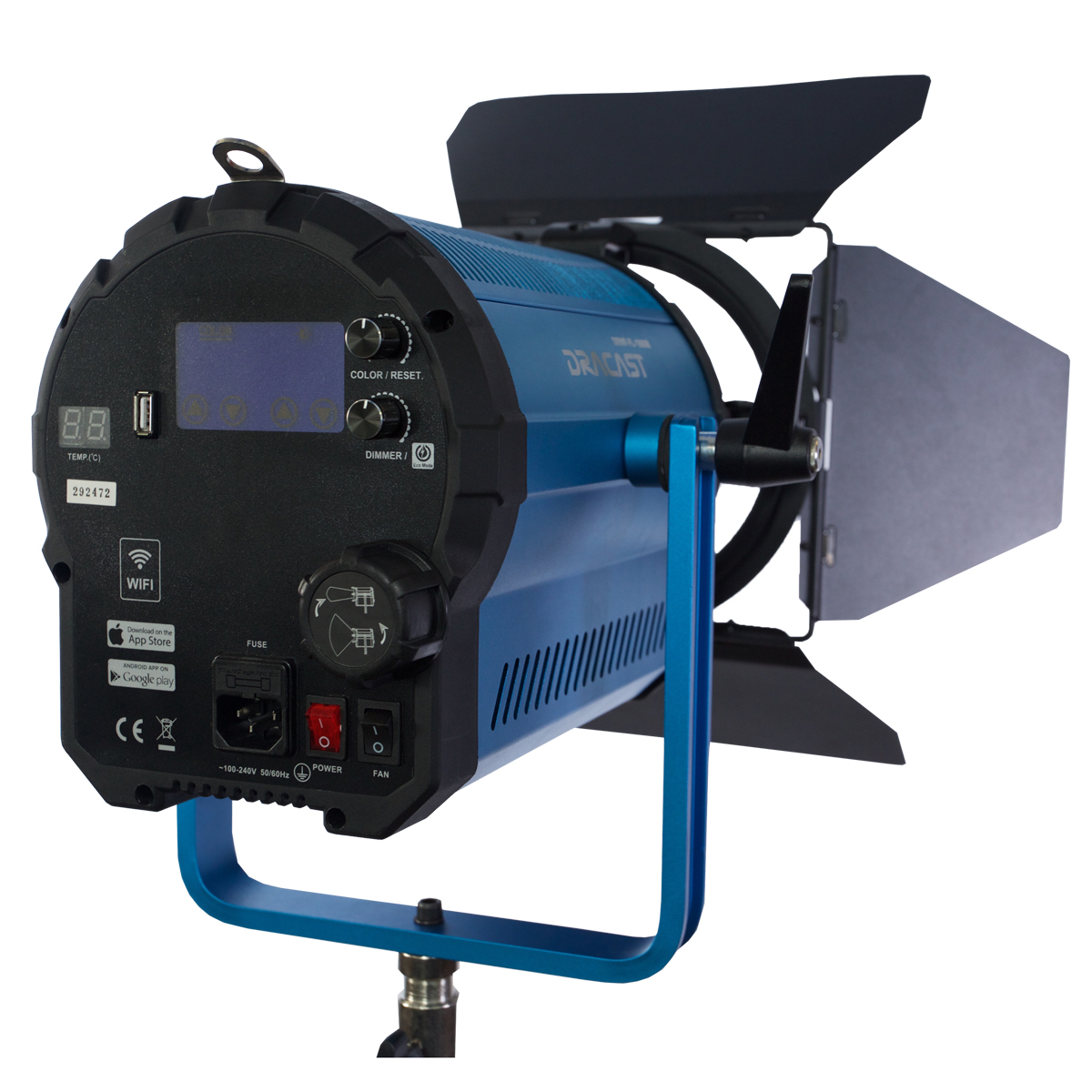 Fresnel 1500 Back View