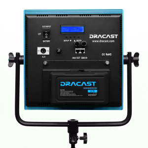 Dracast LED1000 Plus Series Back